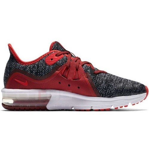 ДЕТСКИ МАРАТОНКИ NIKE AIR MAX SEQUENT 3 (GS) BLACK/RED
