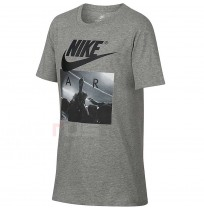 ДЕТСКА ТЕНИСКА NIKE NSW TEE AIR HUDDLE GREY