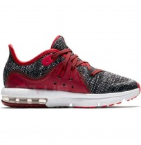 ДЕТСКИ МАРАТОНКИ NIKE AIR MAX SEQUENT 3 (PS) BLACK/RED
