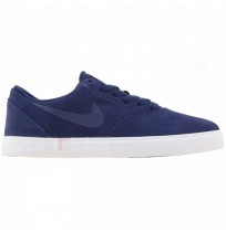 ДЕТСКИ ОБУВКИ NIKE SB CHECK SUEDE (GS) NAVY