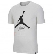 МЪЖКА ТЕНИСКА NIKE JORDAN JSW TEE FLIGHT CEMENT AOP WHITE
