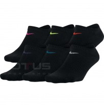 ЧОРАПИ NIKE EVERYDAY LTWT NS 6PR BLACK