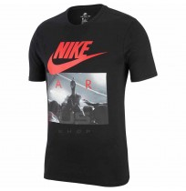 МЪЖКА ТЕНИСКА NIKE NSW TEE CLTR NIKE AIR 2 BLACK