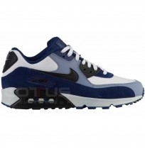 МЪЖКИ МАРАТОНКИ NIKE AIR MAX 90 LEATHER BLUE/WHITE