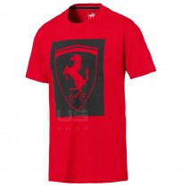 МЪЖКА ТЕНИСКА PUMA FERRARI BIG SHIELD TEE RED