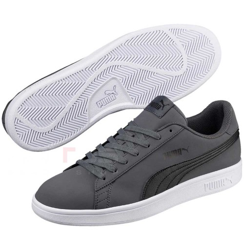 МЪЖКИ ОБУВКИ PUMA SMASH V2 BUCK FTW GRAY