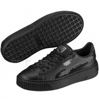 ДЕТСКИ ОБУВКИ PUMA BASKET PLATFORM BLING JR FTW BLACK
