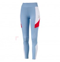 ДАМСКИ КЛИН PUMA RETRO RIB LEGGING BLUE