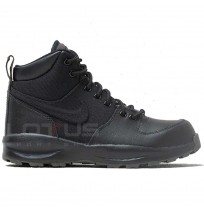 ДЕТСКИ ОБУВКИ NIKE MANOA (GS) BLACK/NEWSPRINT