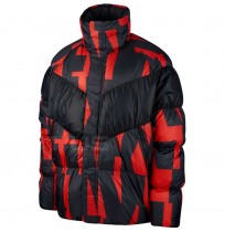 МЪЖКО ЯКЕ NIKE NSW DWN FILL JKT SNL BLACK/RED