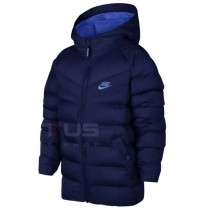 ДЕТСКО ЯКЕ NIKE NSW JACKET FILLED BLUE