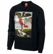 МЪЖКА БЛУЗА NIKE NSW CREW FLC ALLEGORY BLACK