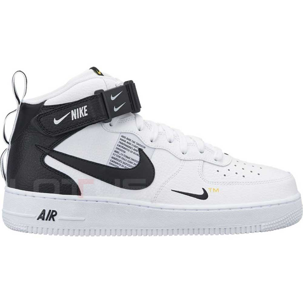 327b6c4702c МЪЖКИ ОБУВКИ NIKE AIR FORCE 1 MID 07 LV8 WHITE | Lotus Sport
