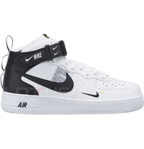МЪЖКИ ОБУВКИ NIKE AIR FORCE 1 MID 07 LV8 WHITE