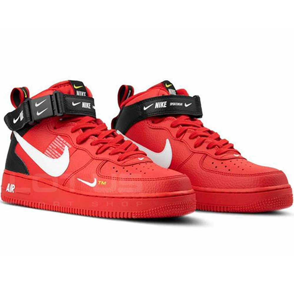 d5f39c919b8 МЪЖКИ ОБУВКИ NIKE AIR FORCE 1 MID 07 LV8 RED | Lotus Sport