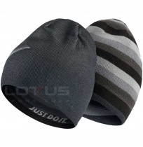 ЗИМНА ШАПКА NIKE BEANIE REVERSIBLE BLACK/GREY