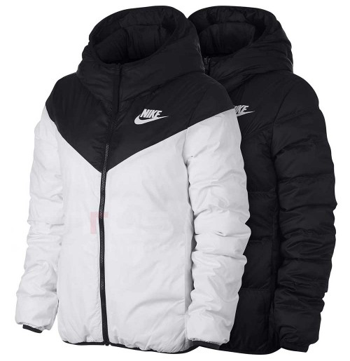 ДАМСКО ЯКЕ NIKE NSW WR DWN FILL JKT REV BLACK/WHITE