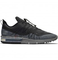 МЪЖКИ МАРАТОНКИ NIKE AIR MAX SEQUENT 4 UTILITY BLACK/SILVER