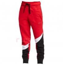 ДЕТСКО ДОЛНИЩЕ NIKE NSW HBR PANT FT STMT RED