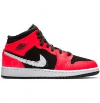 ДЕТСКИ ОБУВКИ NIKE AIR JORDAN 1 MID (GS) BLACK/INFRARED