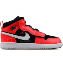ДЕТСКИ ОБУВКИ NIKE JORDAN 1 MID ALT (PS) BLACK/INFRARED