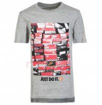 ДЕТСКА ТЕНИСКА NIKE NSW TEE DPTL SHOEBOX GREY