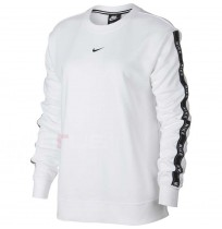 ДАМСКА БЛУЗА NIKE NSW CREW LOGO TAPE WHITE