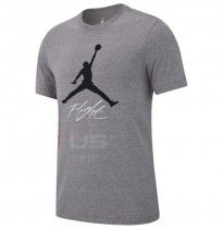 МЪЖКА ТЕНИСКА NIKE JORDAN JUMPMAN FLIGHT HBR TEE CRBN HEATHER