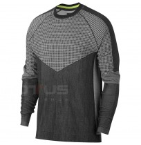МЪЖКА БЛУЗА NIKE NSW TCH PCK TOP LS KNIT SC BLACK