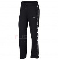 ДАМСКО ДОЛНИЩЕ NIKE NSW PANT LOGO TAPE POPPER BLACK