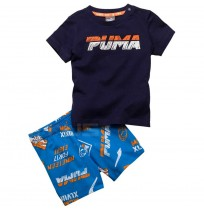 БЕБЕШКИ ЕКИП PUMA MINICATS SET SHORT BLUE