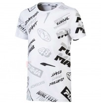 ДЕТСКА ТЕНИСКА PUMA ALPHA GRAPHIC TEE AOP WHITE