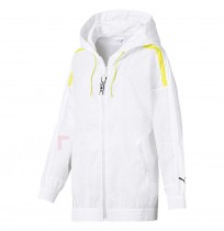 ДАМСКО ЯКЕ PUMA CHASE WOVEN JACKET WHITE