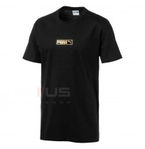МЪЖКА ТЕНИСКА PUMA GRAPHIC LOGO N2 TEE BLACK