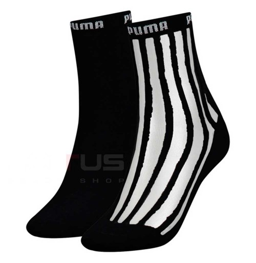 ЧОРАПИ PUMA WOMEN SHORT SOCK T 2P BLACK