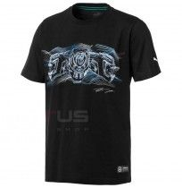 МЪЖКА ТЕНИСКА PUMA MAPM GRAPHIC TEE DRIVER 2 BLACK