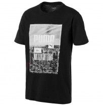 МЪЖКА ТЕНИСКА PUMA PHOTOPRINT SKYLINE TEE BLACK
