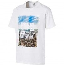 МЪЖКА ТЕНИСКА PUMA PHOTOPRINT SKYLINE TEE WHITE