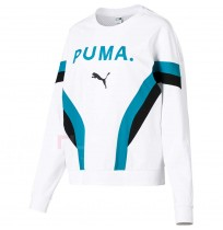 ДАМСКА БЛУЗА PUMA CHASE LONG SLEEVE TOP WHITE