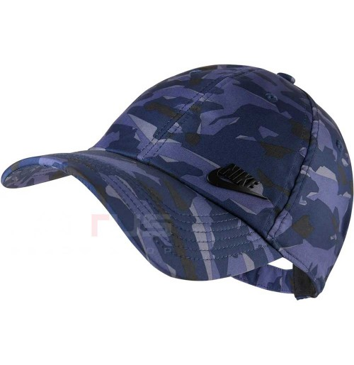 ШАПКА NIKE NSW AROBILL H86 CAP MT FT TF BLUE/CAMO