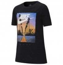 ДЕТСКА ТЕНИСКА NIKE NSW TEE PALM TREE+FUTURA BLACK