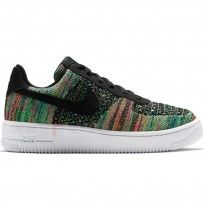 ДЕТСКИ ОБУВКИ NIKE AIR FORCE 1 FLYKNIT 2.0 (GS) BLACK/VOLT