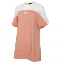 ДАМСКА РОКЛЯ NIKE NSW DRESS MESH ROSE GOLD