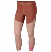 ДАМСКИ КЛИН NIKE PRO SRF SPT CROP TGHT ROSE GOLD/PEACH