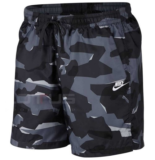МЪЖКИ ШОРТИ NIKE NSW CE CAMO SHORT WVN ANTHRACITE