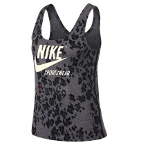 ДАМСКИ ПОТНИК NIKE NSW GYM VNTG TANK LEOPARD BLACK