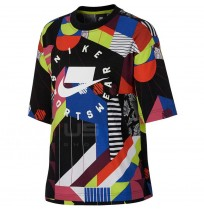ДАМСКА ТЕНИСКА NIKE NSW NSP TOP SS AOP MULTICOLOR