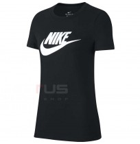 ДАМСКА ТЕНИСКА NIKE NSW TEE ESSNTL ICON FUTURA BLACK