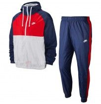 МЪЖКИ СПОРТЕН ЕКИП NIKE NSW CE TRK SUIT HD WVN BLUE/RED