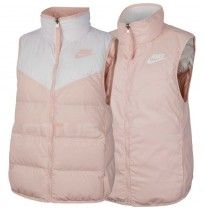 ДАМСКИ ЕЛЕК NIKE NSW WR DWN FILL VEST REV WHITE/PINK